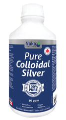 Pure Colloidal Silver 10ppm 600ml