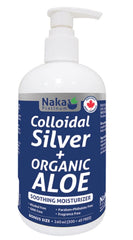 Colloidal Silver + Organic Aloe 340ml