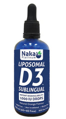 Liposomal D3 Sublingual Drop 100ml