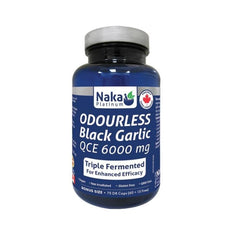 Odourless Black Garlic 6000mg 75 Caps