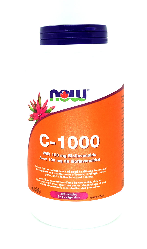 C-1000 with 100mg Bioflavonoids 250 Caps