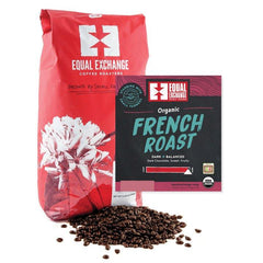 Organic French Roast Coffee 340g