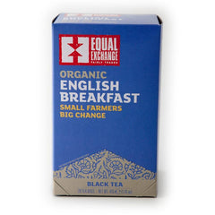 Organic English Breakfast Black Tea 20 Tea Bags