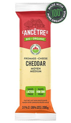 Cheddar Organic Medium 200g