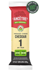 Cheddar Cheese Organic 1year 200g