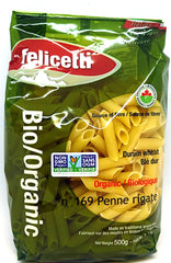 Durum Wheat Penne Rigate Organic 500g