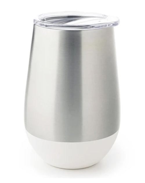Insulated Tumbler White 12oz