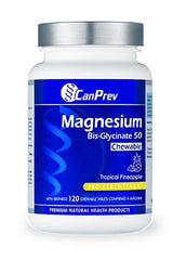 Magnesium Bisglycinate 50 Pineapple 120 Chewable