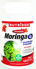 Moringa4X Concentrated 120 Veggie Caps