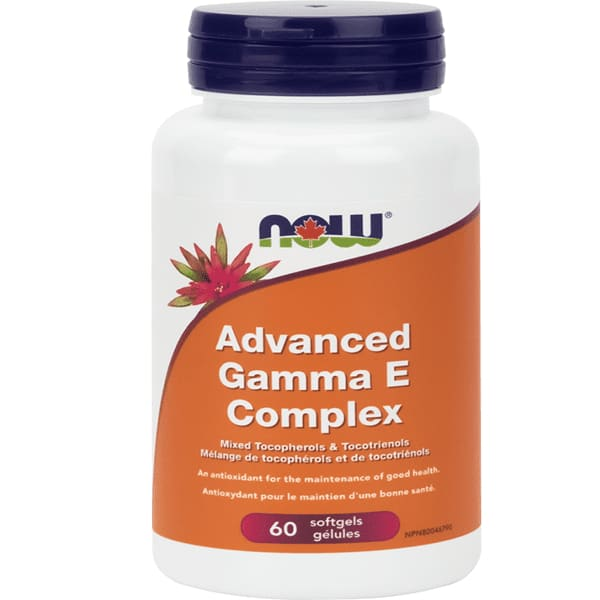 Advanced Gamma E Complex 60 Soft Gels - VitaminE