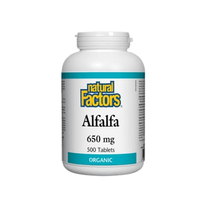 Alfalfa 650mg 500 Tablets - Greens