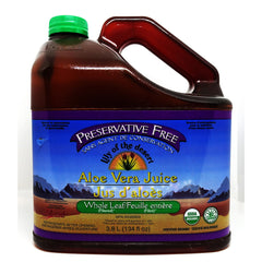 Aloe Vera Juice Whole Leaf PF 128oz
