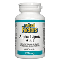 Alpha Lipoic 200mg 60 Caps