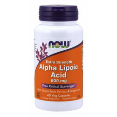 Alpha Lipoic Acid 600mg 60 Caps