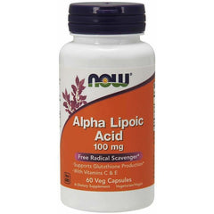 Alpha Lipoic Acid 100mg 60 Caps