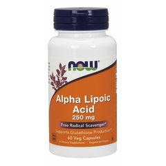Alpha Lipoic Acid 250mg 60 Caps
