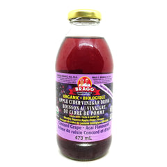 Apple Cider Vinegar Grape 473mL