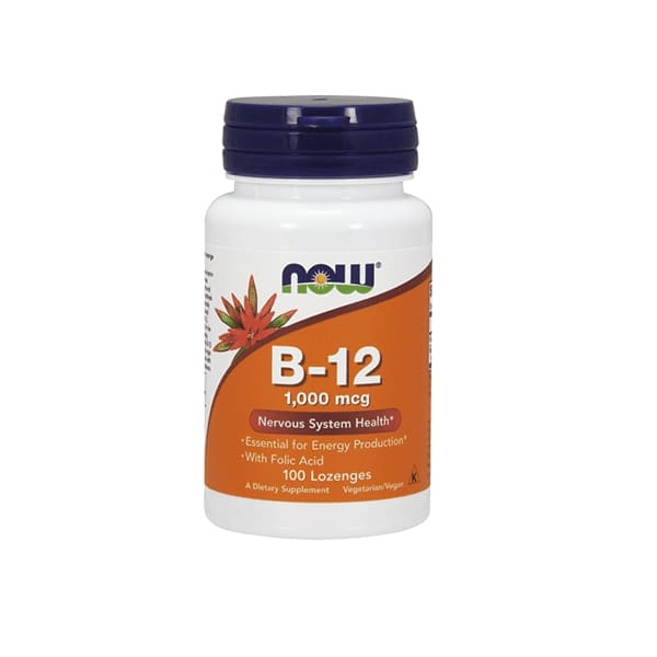 B-12 With Folic 1000mcg Chew 100loz - VitaminB