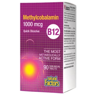 B12 Methylcobalamin 1000mcg 210 Tablets - VitaminB