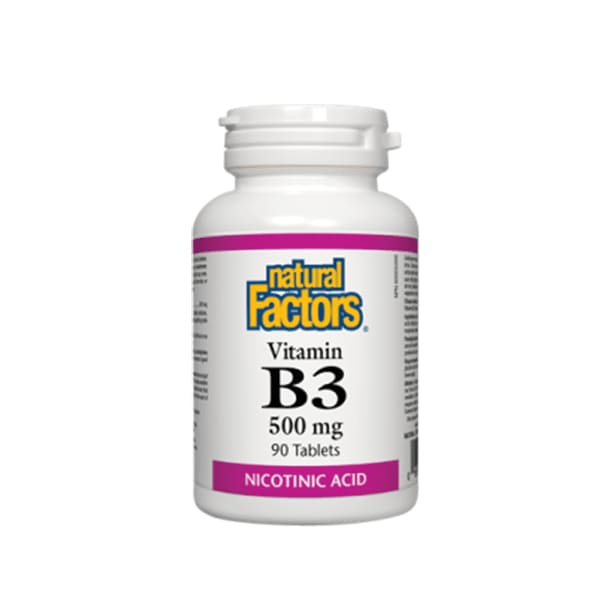 B3 Niacin 500mg 90 Tablets - VitaminB