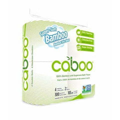 Bamboo 2ply Toilet Tissue 4 Packets
