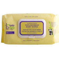 Bamboo Baby Wipes 80 Caplets