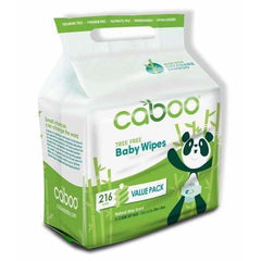 Bamboo Baby Wipes Value Pack 216