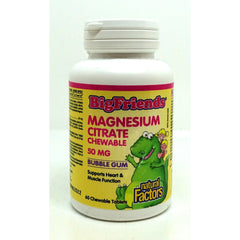 Big Friend Magnesium Citrate 50mg 60 Chewable