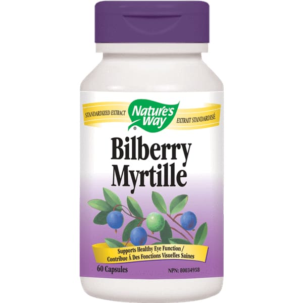 Bilberry Extract 60 Veggie Caps - Eye/Lutein