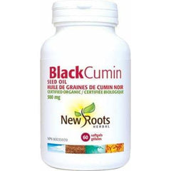 Black Cumin Seed Oil 500mg 60 Soft Gels