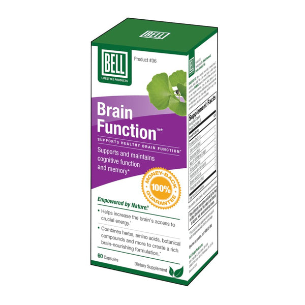 Brain Function 60 Caps - Brain/Cognitive