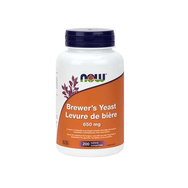Brewers Yeast 650mg 200 Tablets - VitaminB