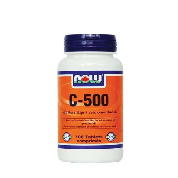 C-500 with 40mg RoseHips 250 Tablets - VitaminC
