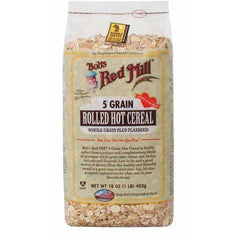 Cereal 5 Grain Rolled Hot 453g