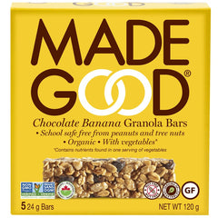 Chocolate Banana Granola Bars Box 120g