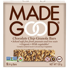 Chocolate Chip Granola Bar Box 120g