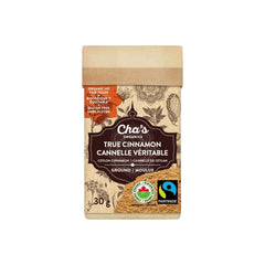 Cinnamon Ground Organic 30g