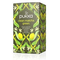 Clean Matcha Green 20 Tea Bags