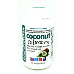 Coconut Oil Organic 240 Soft Gels