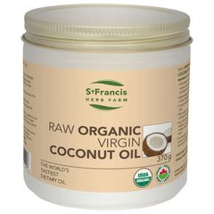 Coconut Oil Organic Raw 370g