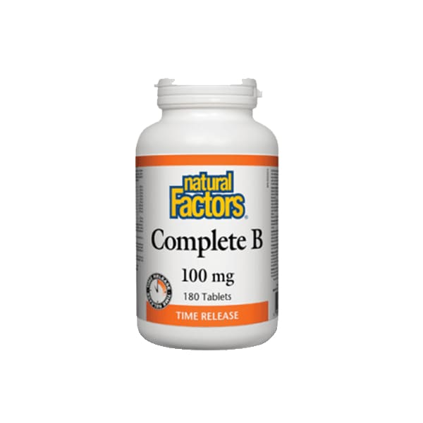 Complete B 100mg Time Release 180 Tablets - VitaminB