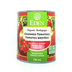 Crushed Tomatoes Unsalted Organic 796m