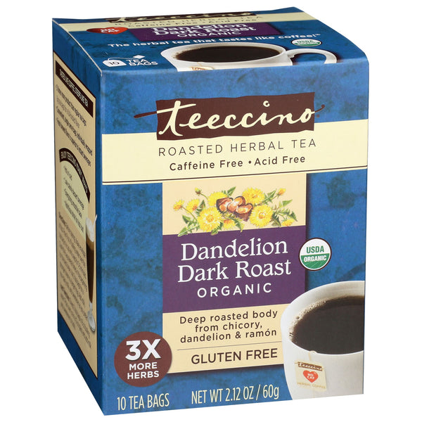Dandelion Dark Roast 10 Tea Bags - Coffee