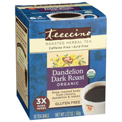 Dandelion Dark Roast 10 Tea Bags