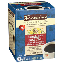 Dandelion Red Chai 10 Tea Bags
