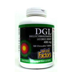 DGL Licorice Root 400mg Chewable 180 Tablets