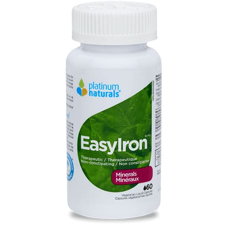 Easyiron 60 Liquid Caps - Iron