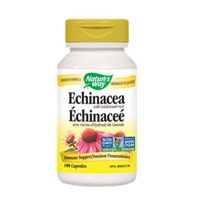 Echinacea with Goldenseal 100 Caps - ImmuneCold