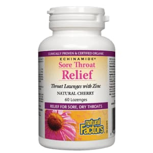 Echinamide Sore Throat Relief Natural Cherry 60loz - ImmuneCold