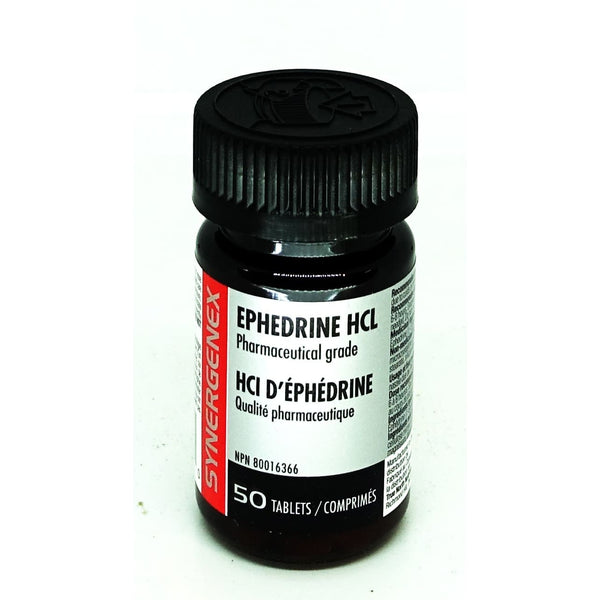 Ephedrine Hcl 8mg 50 Tablets